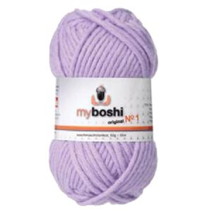 Lilac 161 - Wool Balls 50g For DMC Myboshi Beanie Hats